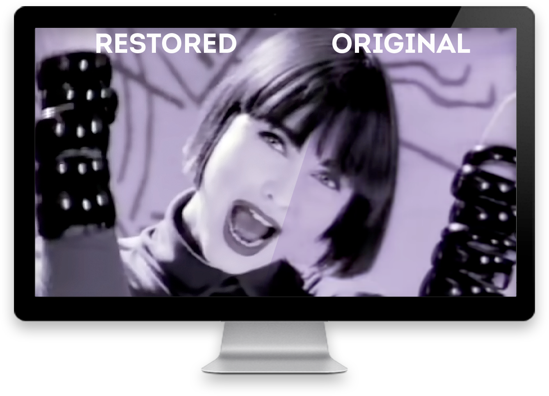 BVMedia restauro videoclip A