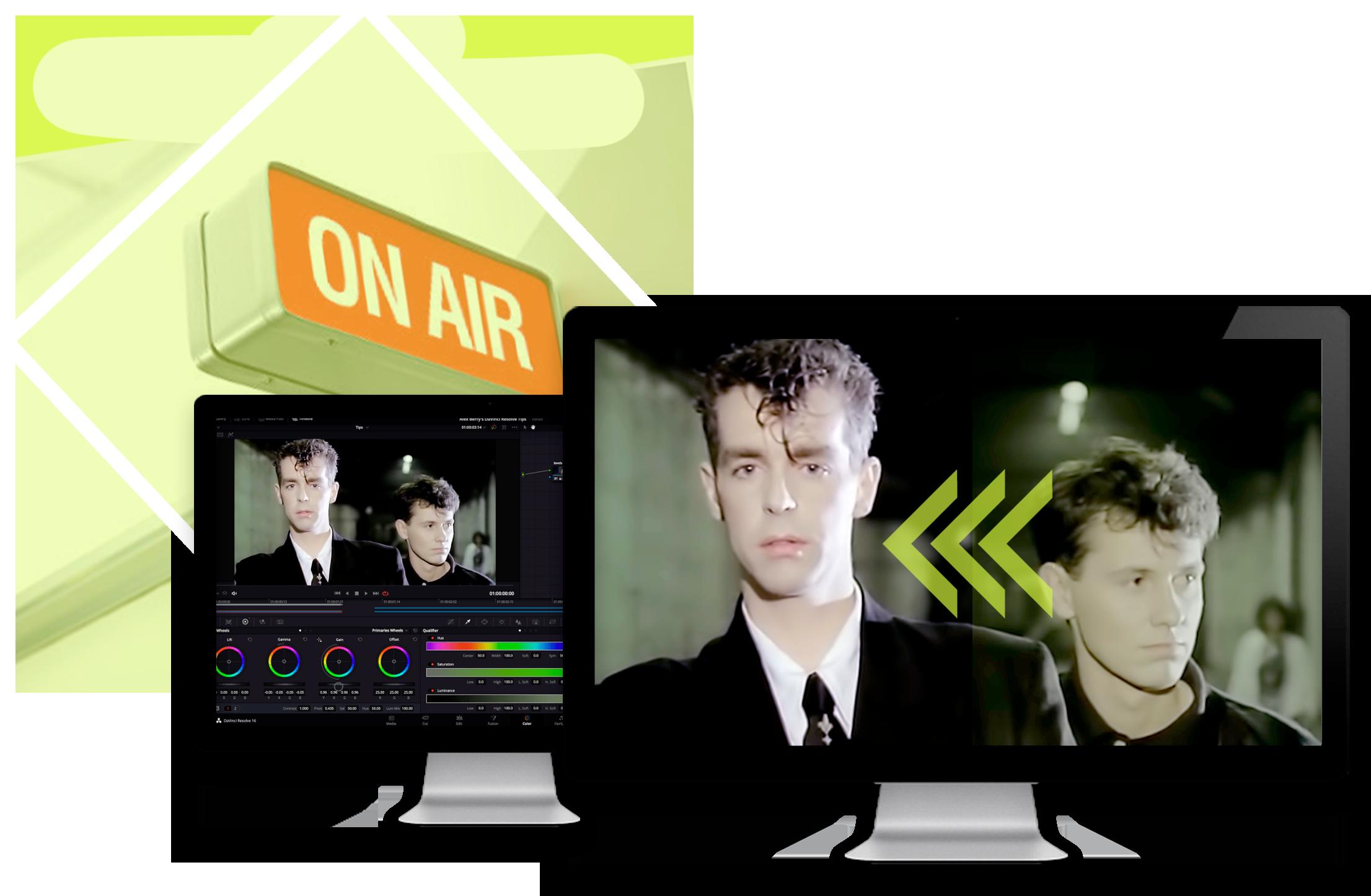 BVMedia restauro videoclip