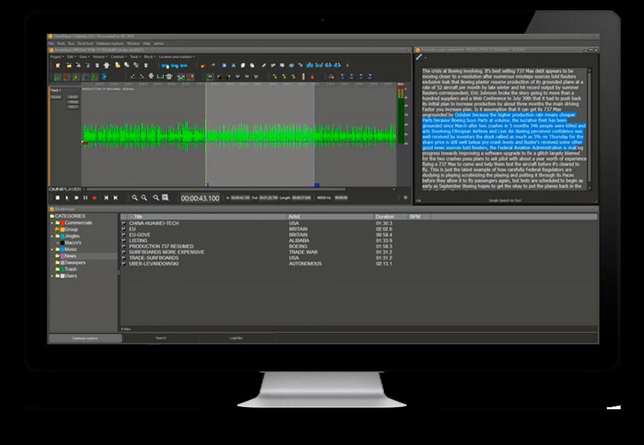 Omniplayer: TextAudioEditor