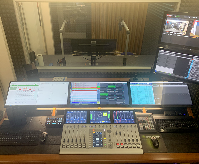 BVMedia Radio Control Room